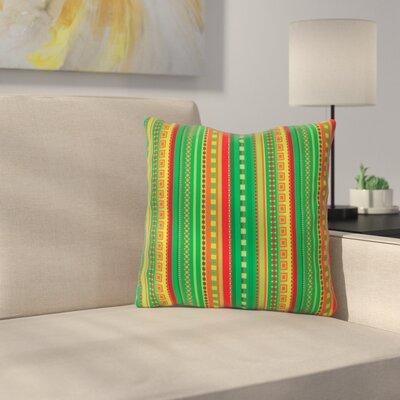 Coastal by Allison Soupcoff Throw Pillow Size: 16 x 16