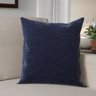 Danin Modern Outdoor Throw Pillow Color: Navy, Size: Medium