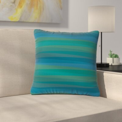Trebam Trokuti V.2 Outdoor Throw Pillow Size: 16 H x 16 W x 5 D