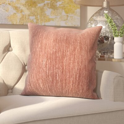 Hollins Gem Woven Decorative Pillow Cover Color: Sienna
