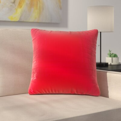 Bloomingdale Throw Pillow Color: Red
