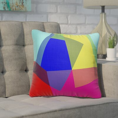 Ferrera Blocks Accent Throw Pillow Size: 18 x 18