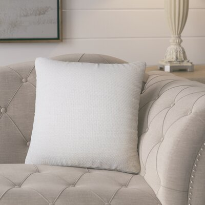 Nik Solid Down Filled Throw Pillow Size: 24 x 24, Color: Oyster