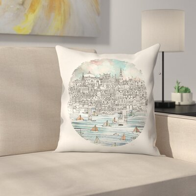 Opal Throw Pillow Size: 16 x 16