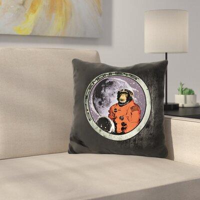 Space Monkeys Throw Pillow
