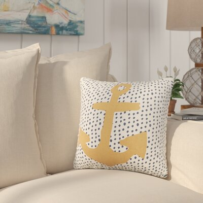 Croghan Anchor Reversible Throw Pillow