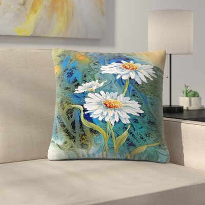 Sunshine Taylor Oh Happy Day Indoor/Outdoor Throw Pillow Size: 14 x 14