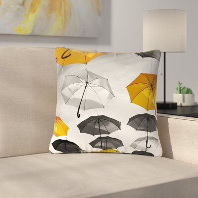 888 Design Umbrellas Outdoor Throw Pillow Size: 16 H x 16 W x 5 D