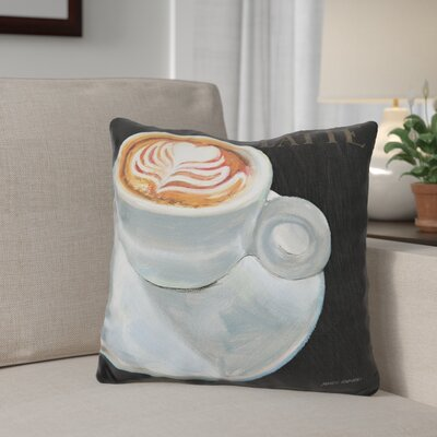 Giltner Dark Roast Throw Pillow