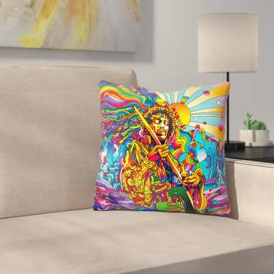Jimi Color Throw Pillow