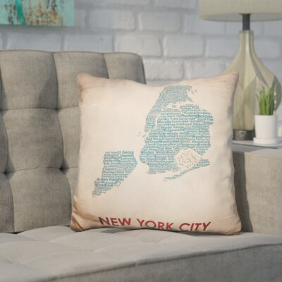 Corley New York City Throw Pillow