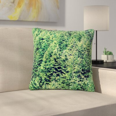 Robin Dickinson Summertime Woodlands Outdoor Throw Pillow Size: 16 H x 16 W x 5 D