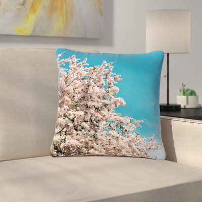 Blossom Tree Outdoor Throw Pillow Size: 18 H x 18 W x 5 D