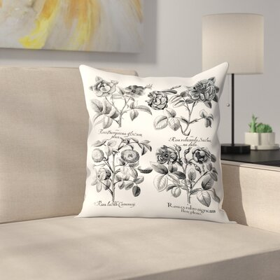 Besler 5 Throw Pillow Size: 16 x 16