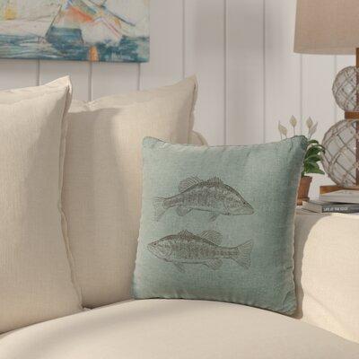 Eanes Throw Pillow Color: Ocean