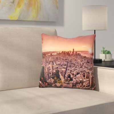 Manhattan in Throw Pillow