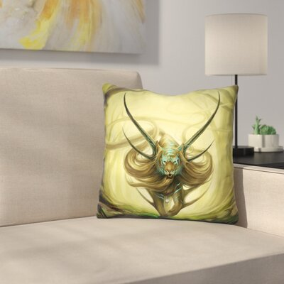 God of Evanescence Throw Pillow