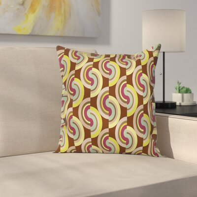 Modern Vintage Rounds Cushion Pillow Cover Size: 20 x 20