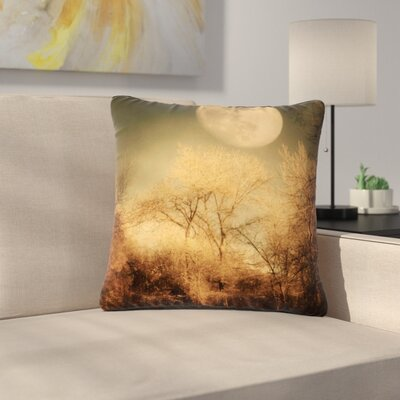 Sylvia Coomes Full Moon Nature Outdoor Throw Pillow Size: 16
