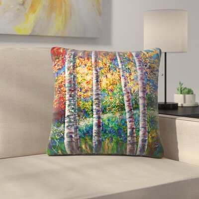 Olena Art A Midsummer Nights Dream Throw Pillow Size: 14 x 14