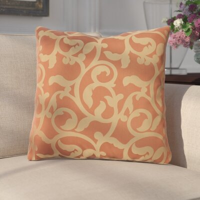 Secretariat Scroll Throw Pillow Color: Red/Gold, Fill Material: Polyester