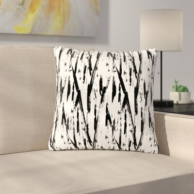 Metka Hiti Strokes Outdoor Throw Pillow Size: 18 H x 18 W x 5 D