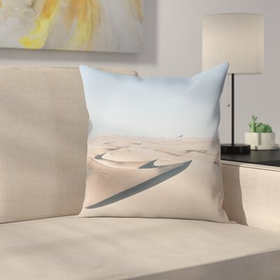 Luke Gram Huacachina Peru Throw Pillow Size: 14 x 14