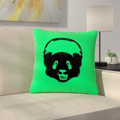 BarmalisiRTB Panda Outdoor Throw Pillow Size: 18 H x 18 W x 5 D