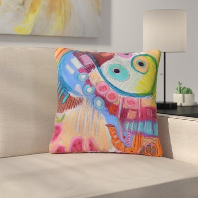 Jeff Ferst Papaya Dream Outdoor Throw Pillow Size: 18 H x 18 W x 5 D