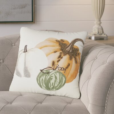Georgeson Pumpkins 100% Cotton Throw Pillow