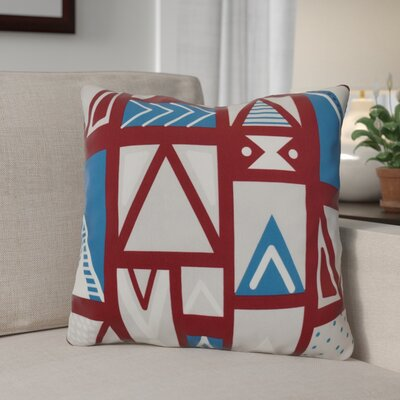 Christmas Outdoor Throw Pillow Size: 20 H x 20 W, Color: Cranberry