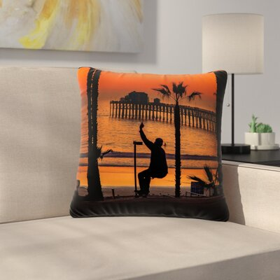 Juan Paolo Endless Summer Outdoor Throw Pillow Size: 16 H x 16 W x 5 D