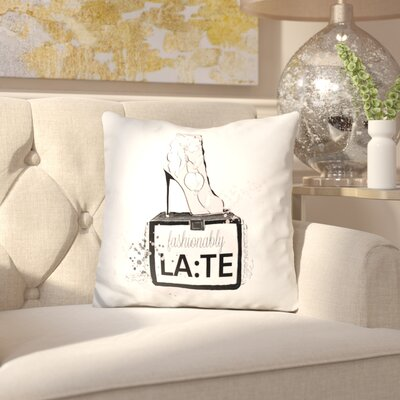 Innes Fashionably Late Throw Pillow