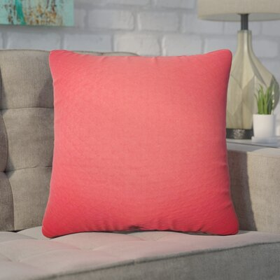 Zenon Solid Cotton Throw Pillow