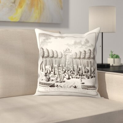 Sculps Fmregenfus Throw Pillow Size: 18 x 18