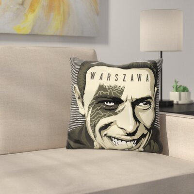 Warszawa Throw Pillow