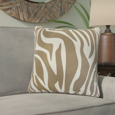 Astatula Zebra Print Cotton Throw Pillow