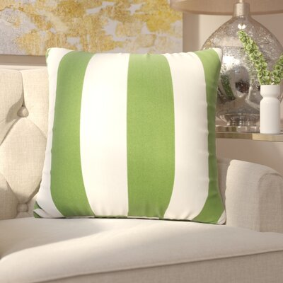 Mufeeda Indoor/Outdoor Throw Pillow Fabric: Sage, Size: Extra Large
