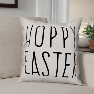 Betts Hoppy Easter Throw Pillow