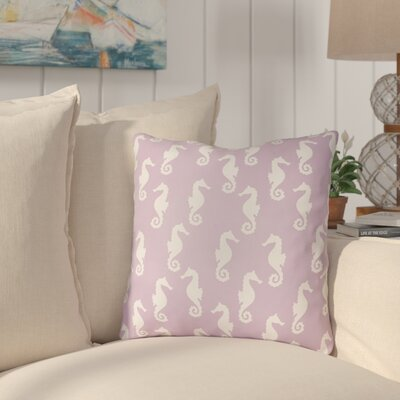 Gerry Sea Indoor/Outdoor Throw Pillow Size: 18 H x 18 W x 3.5 D, Color: Purple