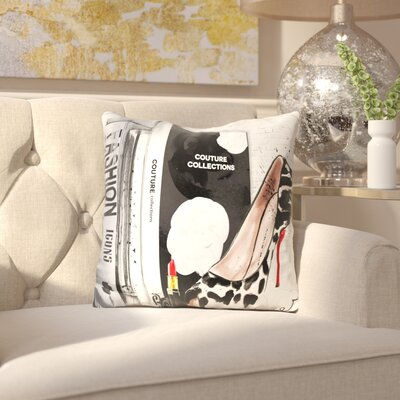 Boadle Fashion Icons Throw Pillow