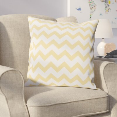 Milo Decorative Throw Pillow Size: 16 H x 16 W, Color: Yellow Haze