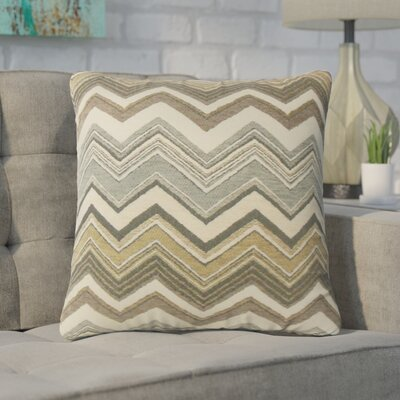 Deangelis Zigzag Throw Pillow