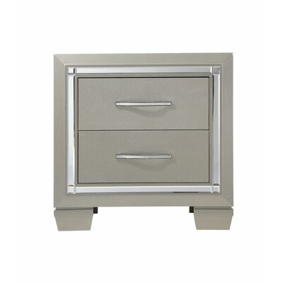 Ladonna 2 Drawer Nightstand
