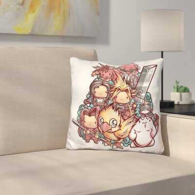B Cutefantasy Throw Pillow