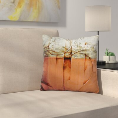 Throw Pillow Color: Orange