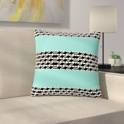 Trebam Pruga Outdoor Throw Pillow Size: 16 H x 16 W x 5 D