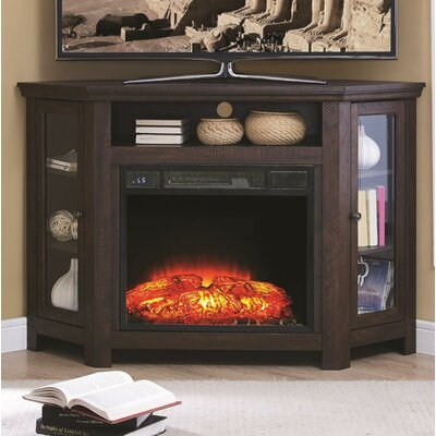 Rhyne 41 TV Stand with Fireplace
