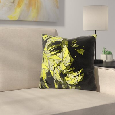 Tupac Throw Pillow