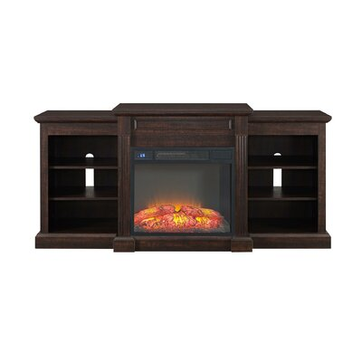 Horrocks 66 TV Stand with Fireplace